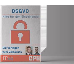 DSGVO Mustervorlagen für stationäre Einzelhändler