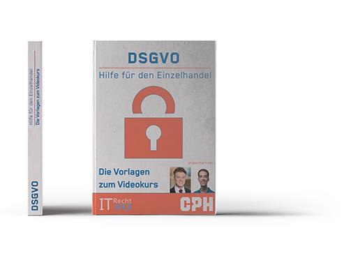 DSGVO Mustervorlagen und Workbook für den Einzelhandel