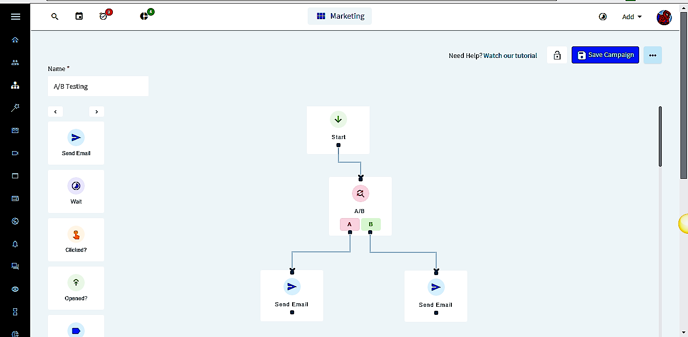 Marketing, E-Mail Marketing, E-Mail Tracking, Automatisierung, Entscheidungsbaum, A/B-Test